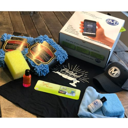 $100 auto care gift package from Mammoth Detail