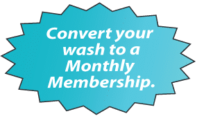 Convert Your Wash to a Monthly Membership