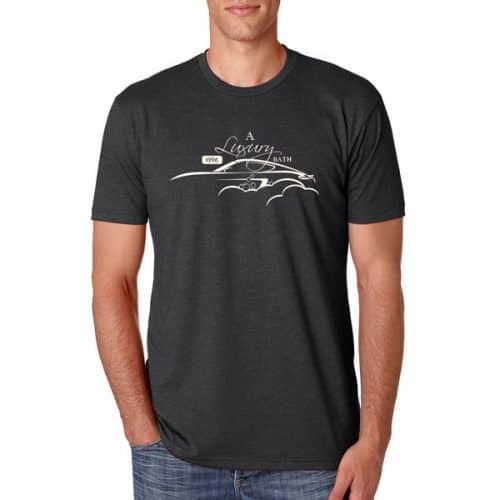 Mammoth Detail Men's Porsche Black T-shirt