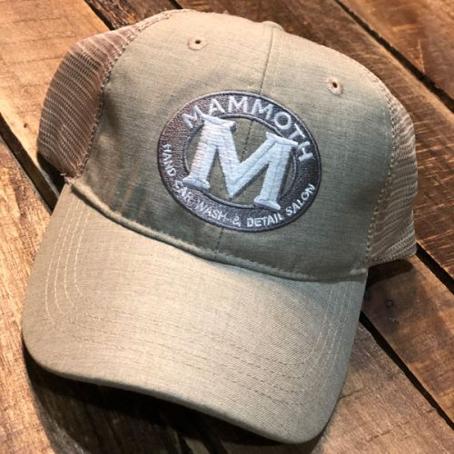Mammoth Tan Baseball Cap