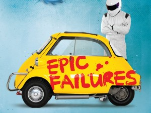 Top Gear's Epic Failures book