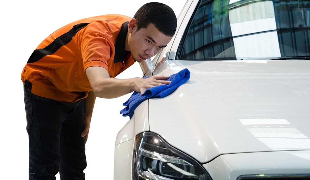Automobile hand wash services