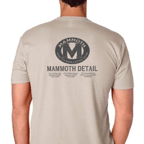 Mammoth Men's Western Tan T-shirt